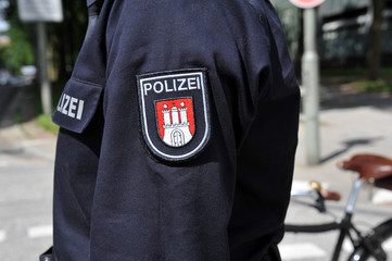 Polizei Hamburg, Uniform, Wappen, Streife, Revier, Hamburg