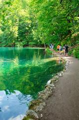 Walking path - Plitvice Lakes, Croatia