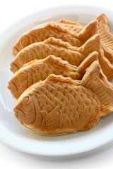 taiyaki, japanese fish shape cake