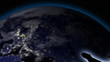 Earth from Space Alien Invasion Europe