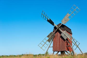 Windmühle auf Öland, Schweden