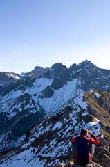 Blick von der Kanzelwand - Allgäuer Alpen - Deutschland