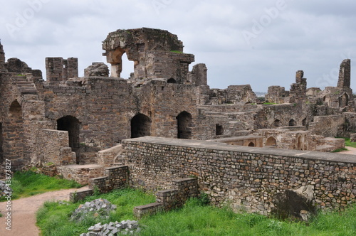Golconda Fort in Hyderabad, India Poster