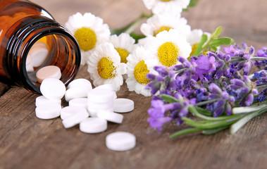 Schüssler Salze mit Kamille und Lavendel