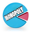 Monopoly Pie Chart Market Leader Unfair Competition