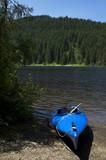 Kayak on the Lakeshore poster