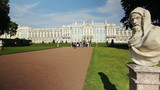 Panorama of the Imperial Palace, Tsarskoe selo, Russia