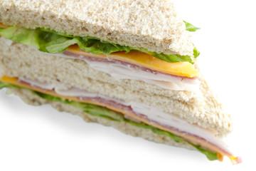 ham and american cheese sandwich