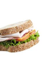 ham and vegetable sandwich