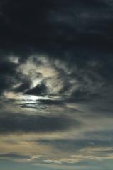 Sunlight through cloud