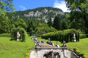 Fountain, Linderhof palace, Germany
