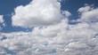 Quellwolken Zeitraffer
