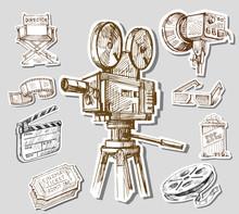 film caméra à main levée