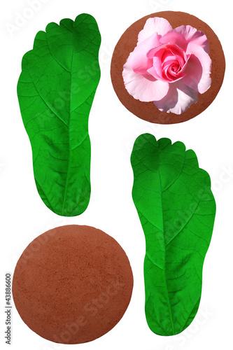 Soins des pieds - Gommage