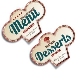 Menu&Desserts