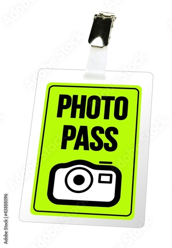 Photo Pass - Anhänger