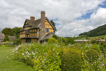 Gatehouse at Stokesay Castle, Shropshire, England