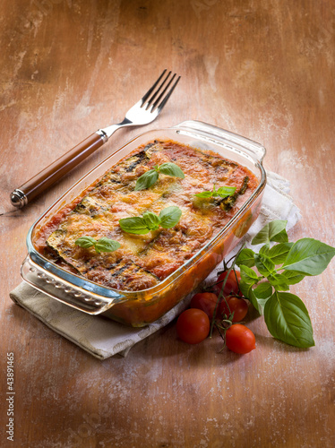 zucchinis parmesan-parmigiana di zucchine