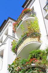begrünte Balkone