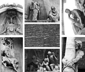 Sagrada Familia. Architectural details