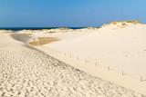 Fototapety Moving dunes park near Baltic Sea in Leba, Poland