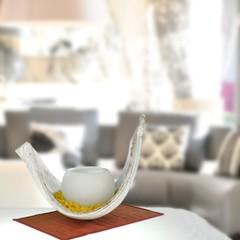 Milieuaufnahme Galera Kokusblatt in Wohnzimmer