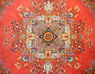 Texture of Turkish Carpet