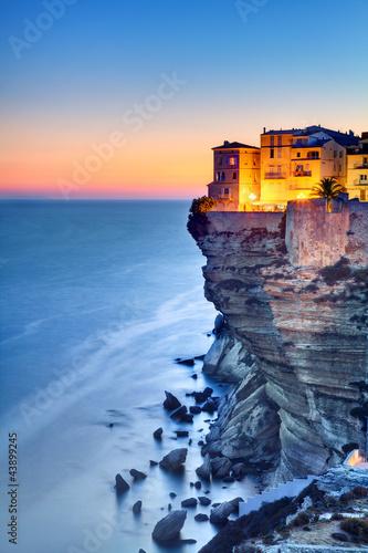 Leinwanddruck Bild Bonifacio - Corse du Sud
