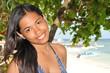 Junges Mädchen am Strand