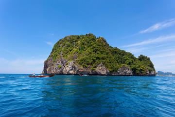 View of Maya Bay, Phi Phi island, Thailand