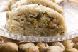 Homemade Halvah with Pistachio Nut