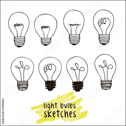 different styles of bulbs