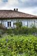 Ferme, jardin, maison, campagne, Landes, France