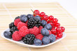 Assortment of sweet berries