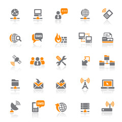 25 Web Icons - Network/Communication