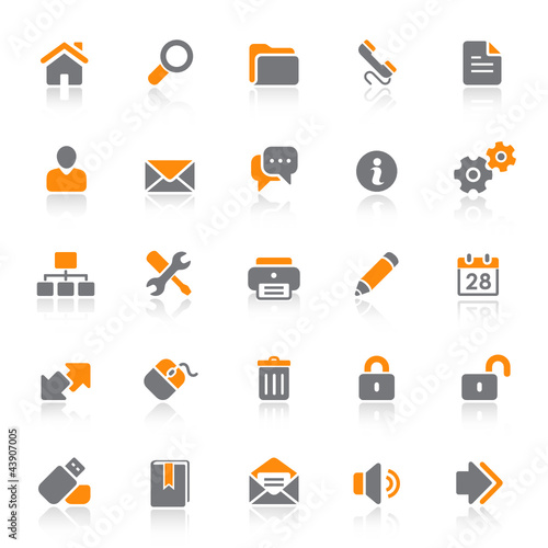 25 Web Icons - Internet
