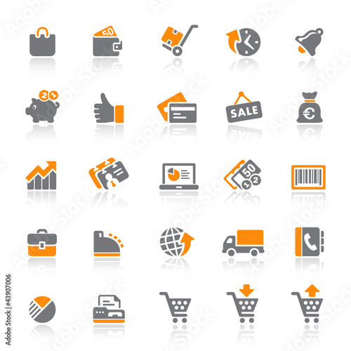 25 Web Icons - Shopping