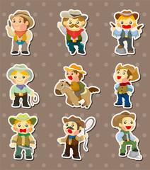 cowboy stickers