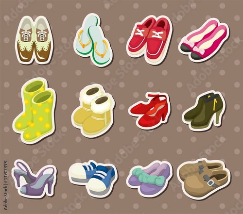 shoe stickers