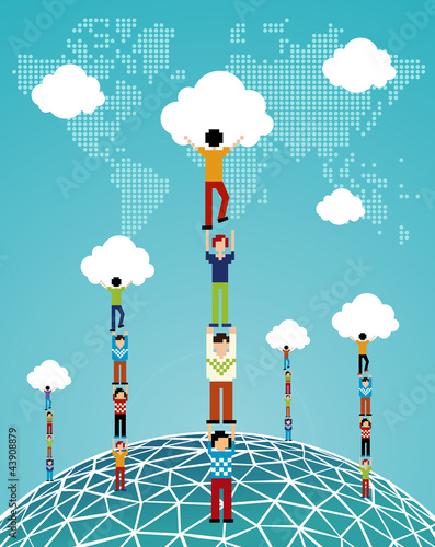 Cloud computing global success