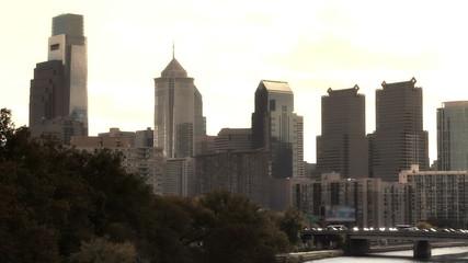 Skyline of Philadelphia, USA