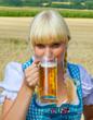 Ein Schluck Bier