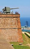 Montjuic Castle, Barcelona poster