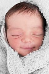 Sleeping Baby Smile