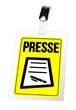Presse - Ausweis