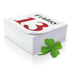 Diary: Friday 13 lucky day (English)
