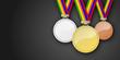 Medaillen Set
