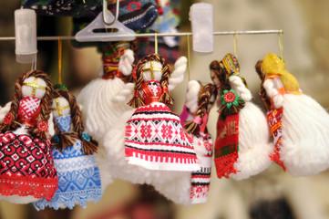 Ukrainian traditional handmade dolls