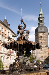 Marktplatz Bad Schandau Detail