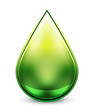 Hi-tech water drop icon